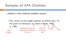 Ppt Citing And Referencing In Apa Style Powerpoint Presentation