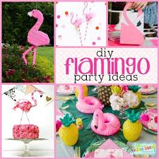 Diy Party Printables Diy Flamingo Party This Seasons Hottest Flamingle Party