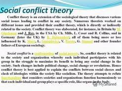 conflict theory essay  conflict theory essay