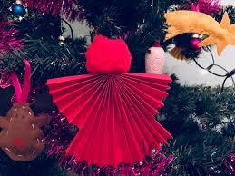 Engel Für Den Weihnachtsbaum Basteln Mit Kindern Der