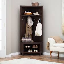 Hall Coat Rack With Storage Brilliant Hall Stand Entryway Coat Rack And Storage Bench With Satin 51