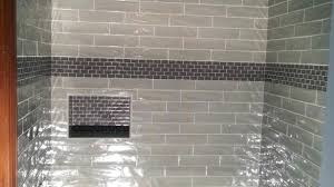 glass tiles for shower awesome bathrooms design accent tile in wall ideas inside mosaic