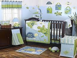 turtle baby bedding set for boys crib tiny turtles