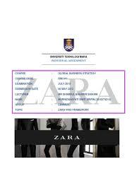 zara vrio framework pdf business economies