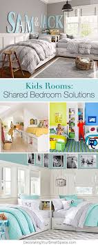 Each bed has hidden storage compartments, which are brilliant for holding blankets, sheets, and out of season clothing. Shared Bedroom Ideas For Kids Ohmeohmy Blog Kids Rooms Shared Shared Bedroom Boy Room