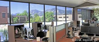 Office Window Treatments Conference Room & Office Window Shades Insolroll 5265 by xevi.us