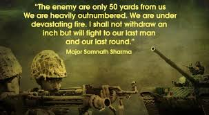 heart touching quotes from n army will surely resonate  somnath sharma quote