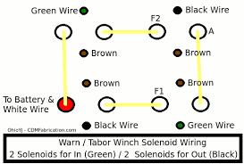 winch wiring diagram cdm fabrication warn a2000 winch schematic warn winch solenoid wiring diagram