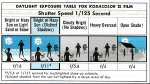 Bde Chart Basic Daylight Exposure Svhs Photo