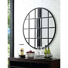 40 inch mirror inch round mirror black with beveled glass framed mirror 40 x 60