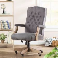 Feminine office chair Elegant Quickview Wayfair Fabric Office Chairs Youll Love Wayfair
