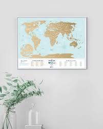 Скретч <b>Карта</b> Мира <b>Travel Map</b> Holiday Lagoon - <b>1DEA</b>.<b>me</b>