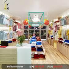 Thiết kế shop thời trang mẹ và bé Mỹ Vinh