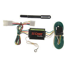 trailer wiring harness curt custom vehicle to trailer wiring harness 55354 for 1997 2001 jeep cherokee