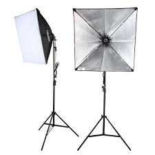 com hy 5500k photography continuous softbox lighting kit for portrait photography studio