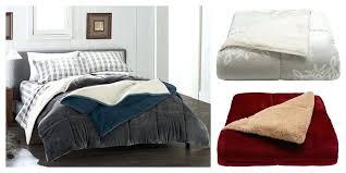 comforter cozy soft comforters plush sherpa set cuddle duds just shipped originally