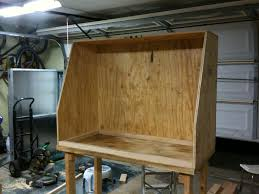 Sand Blasting Cabinets How To Build A Homemade Sandblasting Cabinet Smeccacom