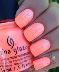 Best Of Neon Coral Nail Polish China Glaze Nehty V Roce 2019