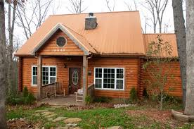 Wonderful Photo Above: View Of 3 Bears Cabin Outside From The Front. This Is One Of  The Most Elegant Cabins We Have Ever Seen. Look At The Pictures Below.
