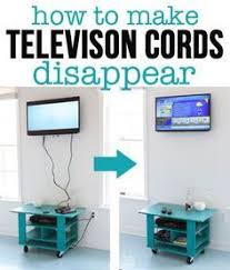 Using a $15 tool, you can easily hide the cords that hang from a wall  mounted TV. In My Own Style | Home Reno | Pinterest | Mounted tv,