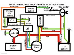newest 110cc atv cdi wiring diagram wiring diagram for chinese 110 ATV Wiring Diagrams For Dummies at Atv Cdi Wiring Diagrams