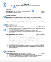 Relevant Experience Resume Best Resume Makeover Getting Riley A Digital Marketing Job Cheatsheet