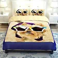dog bedding set hot lovely dog pet design twin queen bedding bed sheet set bedclothes dog bedding set