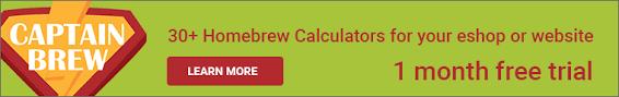 Captain Brew Priming Sugar Calculator For Bottling Your