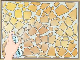 Pre Made Mosaic Designs How To Make A Mosaic Table Top 15 Steps With Pictures