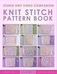 Knit Stitch Patterns Inspiration Knit And Purl Stitch Patterns Video Instructions Studio Knit