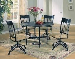 furniture with wheels. dining chairs with wheels design ideas furniture