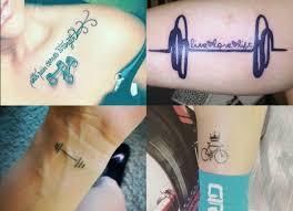 крутые фитнес татуировки для влюбленных в спорт людей