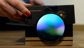 here s how to build a smartphone projector using a shoe box awesomejelly com