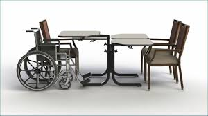 wheelchair accessible adjule height dining table 4 persons dimensions 26 x 47 free font color c60 font