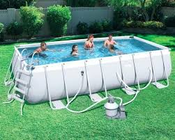 Rectangular Above Ground Pools Rectangle Swimming Pools Nz
