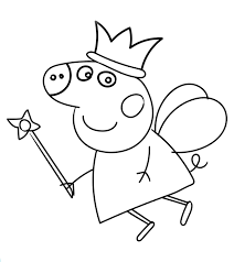Not all popular kid's shows come from us. Top 35 Free Printable Peppa Pig Coloring Pages Online