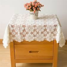 round bedside table covers elegant vintage square lace tablecloths bedside table cover