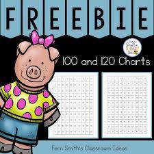 Ferns Freebie Friday 100 Chart And 120 Chart Freebie