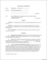 008 Consulting Services Agreement Template Free Luxury Us Of