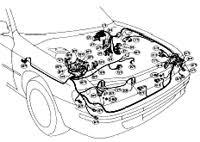 subaru impreza car wiring diagram and harness