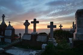 Cuál es el origen del término 'cementerio'?
