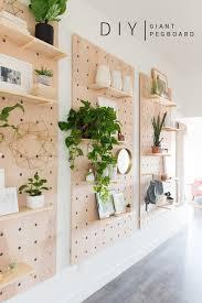 Giant Wooden Peg Board DIY! | DIY | CREATE | Diy home decor projects ...