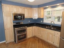 Blue Paint For Kitchen Blue Kitchen Walls Oak Cabinets Cliff Kitchen