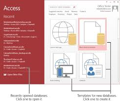 Access 2013 Templates 1 Creating Your First Database Access 2013 The Missing Manual Book