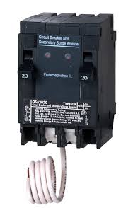 siemens qsa2020spd whole house surge protection with two 20 amp square d surge protection at Square D Surge Protector Wiring Diagram