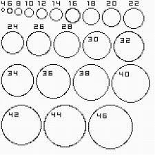 Circle Pixel Chart Bedowntowndaytona Com