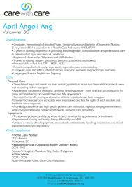 Elderly Caregiver Job Description Resume Best Sample Resumes