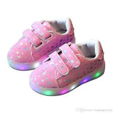 kids luminous shoes toddler boys s led light up shoes cal sneakers light up neon glow shoes shiny stars fashion sneakers kids boots shoes kids