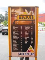 Aruba Taxi Fare Chart Taxi Rates In Cuenca Ecuador Gringosabroad
