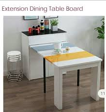 extension wall mounted console dining